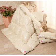 Одеяло Камелия бежевое