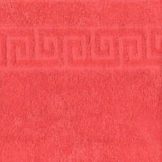 Полотенце махровое цвет Коралл
